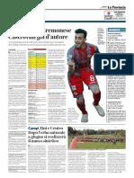 La Provincia Di Cremona 05-04-2019 - Serie B