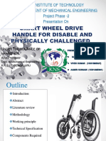 Smart Wheel Chair Ppt