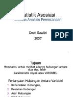 Statistik Asosiasi