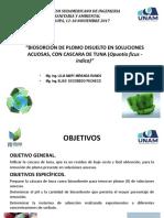 Biosorcion de Plomo disuelto Es Soluciones Acuosas, con cascara de Tuna.pdf