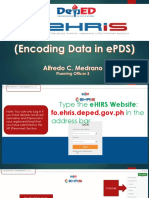 EPDS EHRIS Presentation by Alfredo c Medrano Latest With Animation
