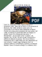 Biografia Di Carlo Il Folle