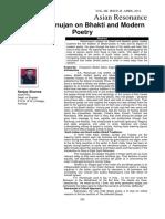 Bhakti and Modern Poetry.pdf