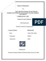 UNDERSTANDING THE FUNCTIONING OF SECONDARY MARKET INVESTMENTS AND ANALYSIS OF DAILY MARKET (1).docx