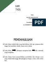 Presentasi Referat Luka Bakar Print