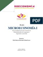 2015.08.03. Silabo Microecon I, V1.0
