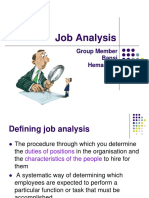 Job Analysis 3