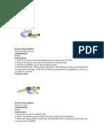 Pilates Booklet