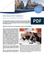 AESGP Regulatory Conference, Conference Report