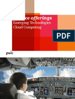 Service Offerings Emerging Technologies Cloud Computing