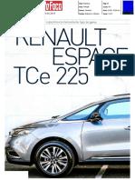 "RENAULT ESPACE TCe 225 NA ""AUTO FOCO"""
