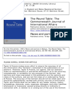 The Round Table Volume 42 Issue 165-168 1951 [Doi 10.1080_00358535108451760] -- Races and Parties in Malaya