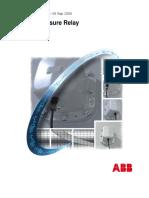 ABB sudden pressure relay.pdf