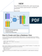 6256 Data Base view by Dsr