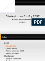 Cliente rico con ExtJS y REST