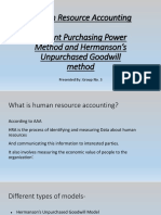 CPPM and Hermanson's Goodwill Model