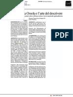 Carlo Maria Ossola e l'arte del descrivere - Il Resto del Carlino del 4 aprile 2019