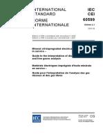 IEC 60599 - TX Insulating Oil