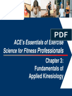 Chapter 3 - Fundamentals of Applied Kinesiology