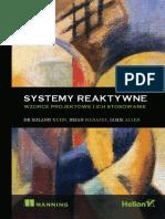 Systemy Reaktywne Wzorce Projektowe i Ich Stosowanie Roland Kuhn Dr Brian Hanafee Jamie Allen