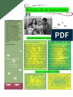 Boletin  de  Autoestima - Rodrigo Ramirez Peña