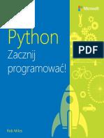 Python Zacznij Programowac Rob Miles