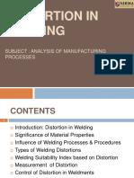 distortions welding