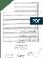 Anatomy Checklist (Labs 1-3)