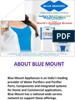 Blue Mount Alkaline RO+UV+UF Water Purifier