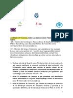 Acuerdo Institucional Residuos, No Incineración, Podemos Cabildo Tenerife (Pleno Marzo 2019)