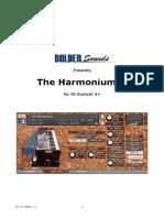 The Harmonium Manual