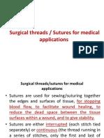 surgical thread