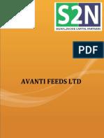 Avanti Feeds Research Report