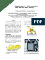 report on accelerometer