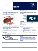 Lassa Fever Information Sheet