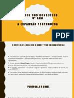 Expansão Portuguesa, Síntese Completa