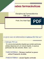 SUSPENSÕES FARMACÊUTICAS ppt