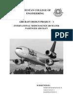 Aircraft Design Project - 280 Seat Transport