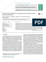 Physicochemical Properties of a High Molecular Weight Levan From