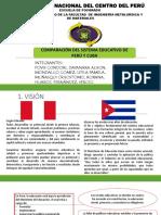 Diapositivas Educacion Peru vs Cuba