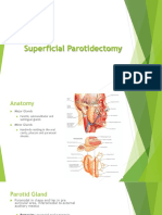 Superficial Parotidectomy TRZ
