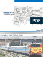 Innovation Design - Indian Railway Coach