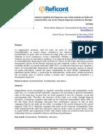 Comparação dos Indicadores Contábeis das Empresas com Ações Listadas no Índice de outras
