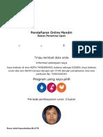 BPJS Ketenagakerjaan - Pendaftaran Online Mandiri