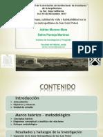 Expansión urbana, calidad de vida y habitabilidad en la   periferia metropolitana de San Luis Potosí