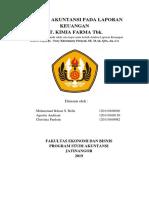Analisis Akuntansi Pada Lap.keu Pt Kimia Farma