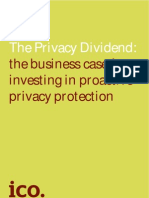 Privacy Dividend