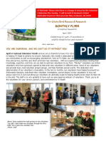 April 2019 Volunteer Flyer