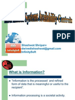 Information System Availibility Control