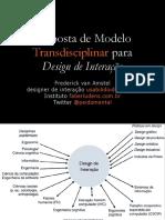 Modelo Transdisciplinar para Design de Interação.